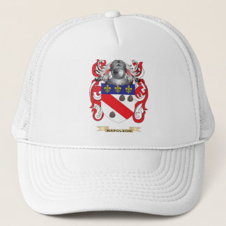 Napoleon Coat of Arms (Family Crest) Trucker Hat