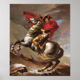 Napoleon crosses the St. Bernard Pass by David Poster