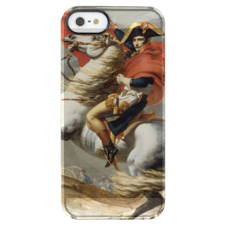 Napoleon Crossing the Alps by Jacques Louis David Clear iPhone SE/5/5s Case