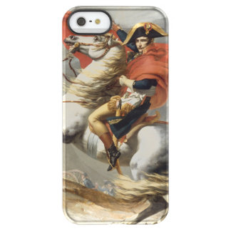 Napoleon Crossing the Alps by Jacques Louis David Permafrost® iPhone SE/5/5s Case