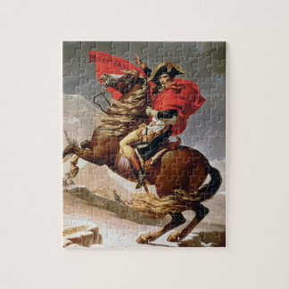 Napoleon Crossing the Alps, c.1800 (oil on canvas) Jigsaw Puzzle