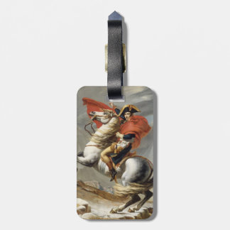Napoleon Crossing the Alps - Jacques-Louis David Luggage Tag