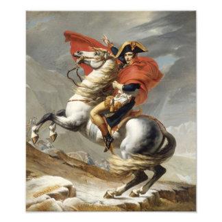 Napoleon Crossing the Alps - Jacques-Louis David Photographic Print