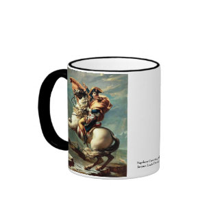 Napoleon Crossing the Alps Coffee Mugs