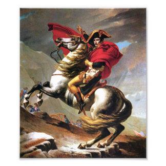 Napoleon Crossing the Alps Print Photographic Print
