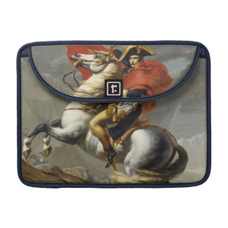 Napoleon Crossing the Grand Saint-Bernard Pass Sleeves For MacBooks