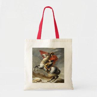 Napoleon Crossing the Grand Saint-Bernard Pass Tote Bag