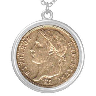 Napoleon Empereur Gold Coin Pendant