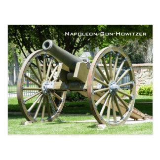 Napoleon Gun-Howitzer Postcard