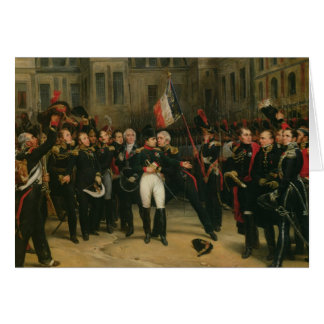 Napoleon I  Bidding Farewell to the Imperial Card
