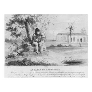 Napoleon I  on the island of St. Helena Postcard