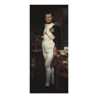Napoleon in his Study by Jacques Louis David Invite