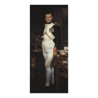 Napoleon in his Study by Jacques Louis David 4x9.25 Paper Invitation Card