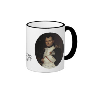 Napoleon in his Study by Jacques Louis David Ringer Coffee Mug