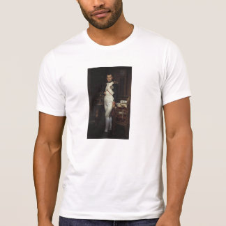 Napoleon in his Study by Jacques Louis David Tee Shirt