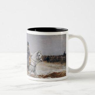Napoleon  on Campaign in 1814, 1864 Two-Tone Coffee Mug