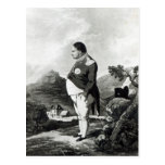 Napoleon on the island of St. Helena, 1820 Postcard