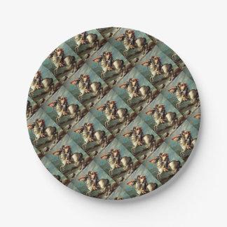 napoleon paper plate
