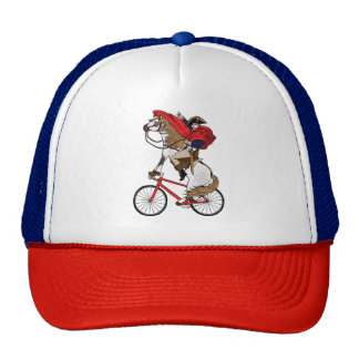 Napoleon Riding Horse Who's Riding A Bike Cap