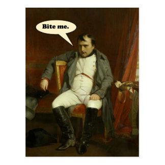 Napoleon Says:  Bite Me Postcard
