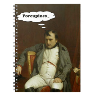Napoleon Thinks About Porcupines Notebook