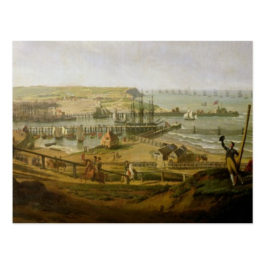 Napoleon Visiting the Camp at Boulogne Postcard