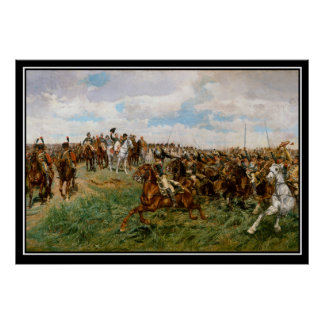 Napoleon's Battle of Friedland 1807 Poster