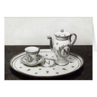 Napoleon's Coffee Set Card