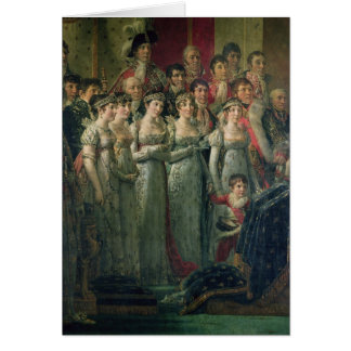 Napoleon's Consecration and Josephine's Card