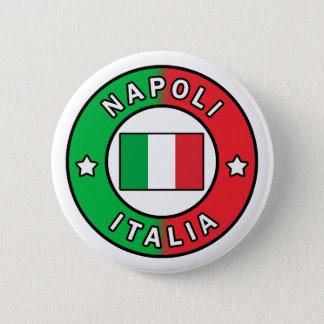 Napoli Italia 6 Cm Round Badge