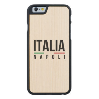 Napoli Italia Carved® Maple iPhone 6 Slim Case