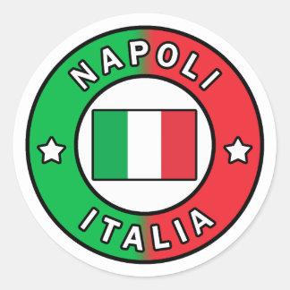 Napoli Italia Classic Round Sticker