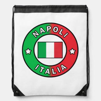 Napoli Italia Drawstring Bag