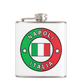 Napoli Italia Hip Flask