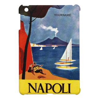 Napoli (Naples) Italy vintage travel custom cases Cover For The iPad Mini
