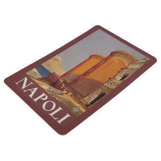 Napoli Naples Italy vintage travel floor mat
