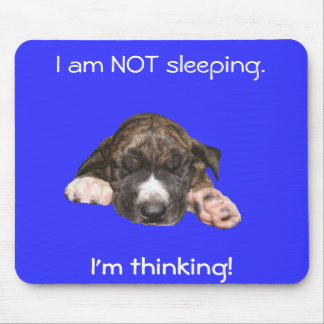 Napping Puppy Mouse Pad