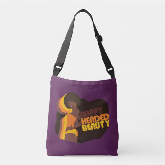 """Nappy Headed Beauty"" Cross Body Bag"