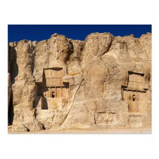 Naqsh-e Rustam Necropolis Shiraz Iran Cemetery Post Cards