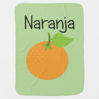 Naranja (Orange) Baby Blanket