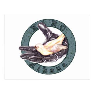 NARC-Athena unit badge postcard