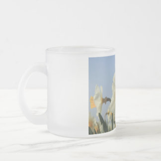 Narcissus by Thespringgarden Frosted Glass Coffee Mug