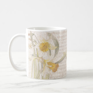 Narcissus Daffodil Wildflower Flowers Meadow Mug
