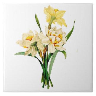 Narcissus Large Square Tile