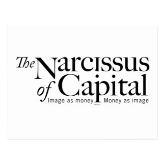 NARCISSUS of CAPITAL Postcard
