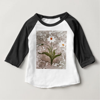 Narcissus On Marble Baby T-Shirt