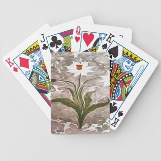 Narcissus On Marble Poker Deck