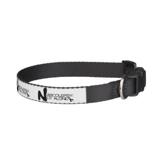 NARCOLEPSY: NOT ALONE™ Classic Dog Collar
