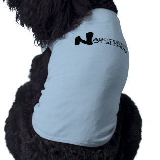 NARCOLEPSY: NOT ALONE™ Large Doggie T-shirt