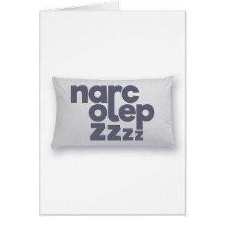 Narcolepsy zzz card